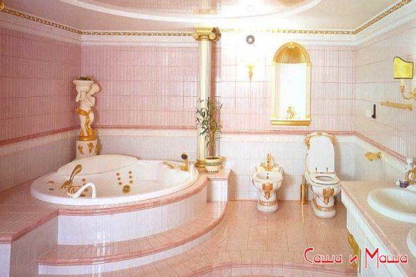 по оформлению ванной