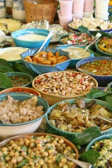 Средиземноморская диета: рецепты и примерное меню на неделю