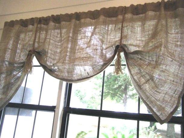 Декор дома из простых тканей