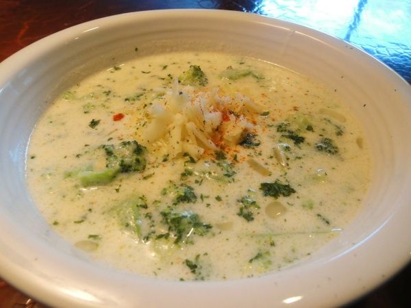 Суп с плавленными сырками и курицей