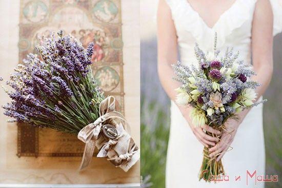 букет невесты Свадьба в стиле Прованс