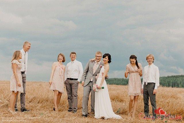 внешний вид гостей в свадьбе прованс