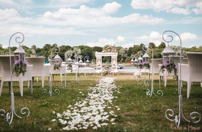 Свадьба в стиле Прованс на свежем воздухе