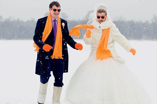 Свадьба зимой: идеи, оформление, тонкости