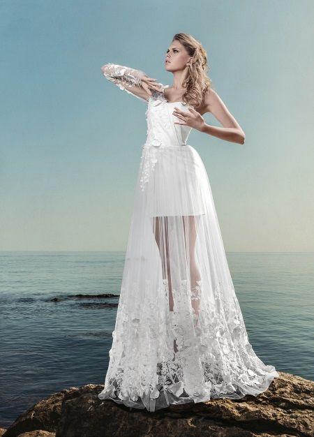 Платье-трансформер для свадебной церемонии