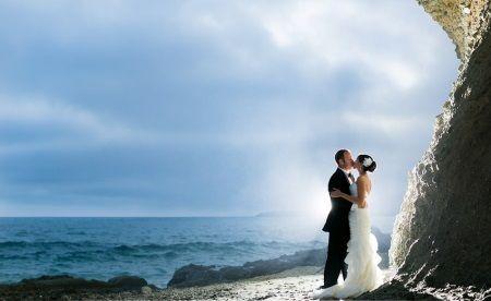 Красивое свадебное платье для пляжной церемонии