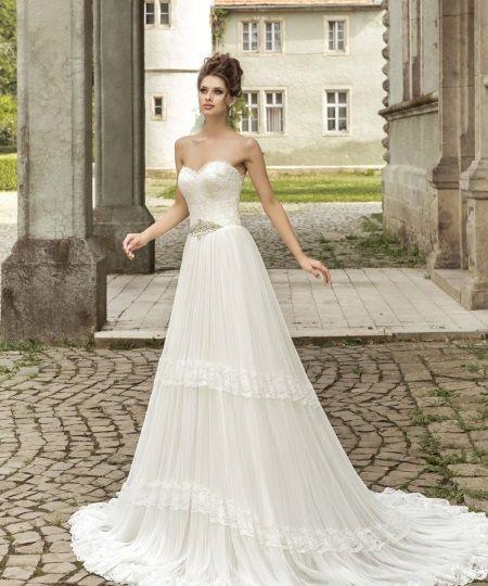 Стиль Прованс в свадебном платье