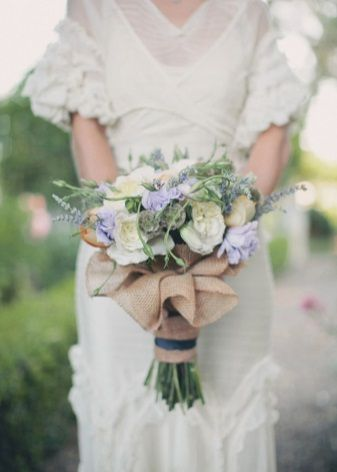 Свадебное платье во французском стиле Прованс