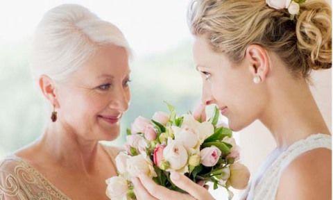 мама с дочерью-невестой