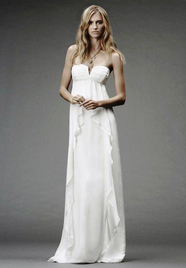 Стильное платье на свадьбу