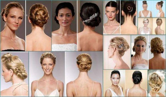 прическа на свадьбу средние волосы