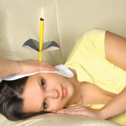 применение ушных свечей
