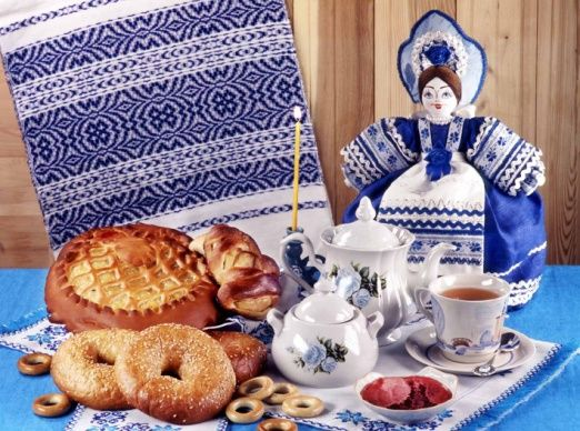 выпечка русской кухни