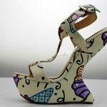 туфли на платформе без каблука фото