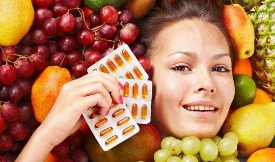 витамины для кожи лица весной