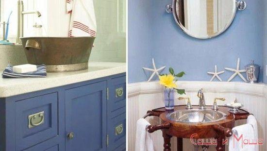 Что необходимо для ванной комнаты в морском стиле