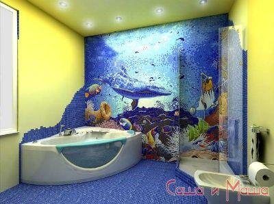 морской стиль в ванне
