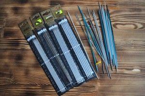Наборы металлических спиц для вязания