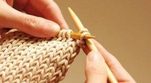 Вязание на бамбуковых спицах