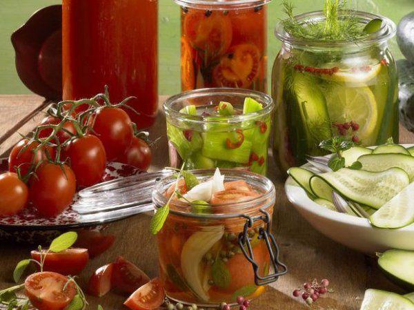 Вкусные и необычные овощные заготовки на зиму. Топ-5 рецептов