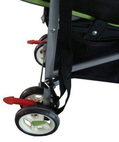 коляска-трость, тормоза