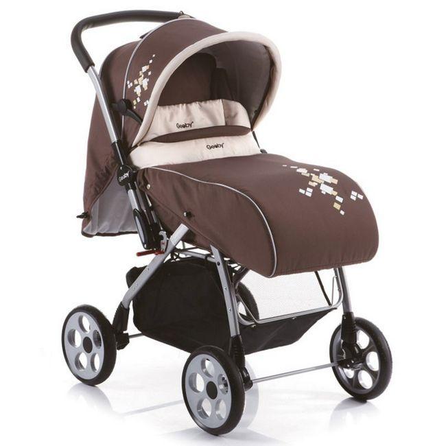 легкая простая коляска для новорожденных