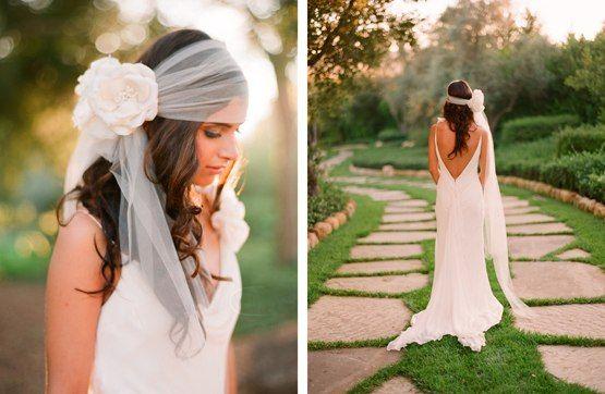 Выбираем свадебную фату