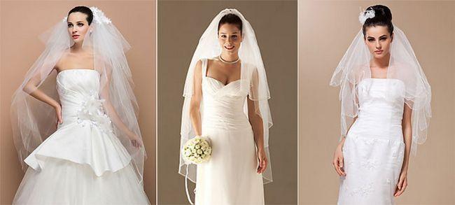 фата под модель платья