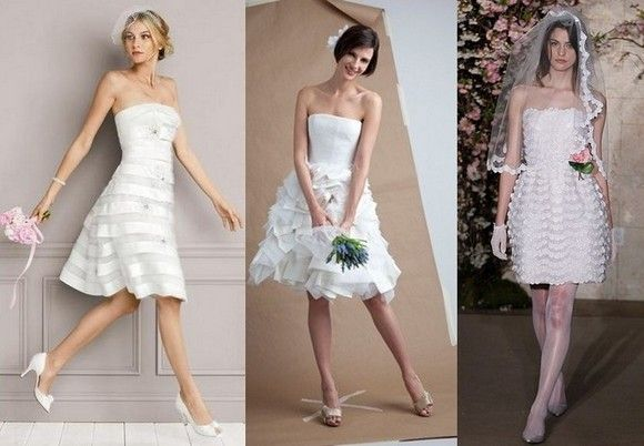 фата под короткое платье
