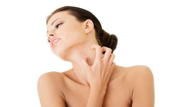 Высыпания на коже в виде красных пятен с зудом у взрослых причины