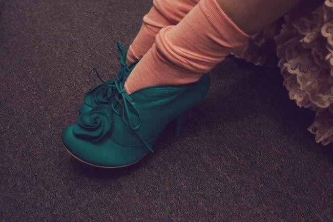 Туфли со шнурками