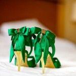 Обувь из шелковой ткани