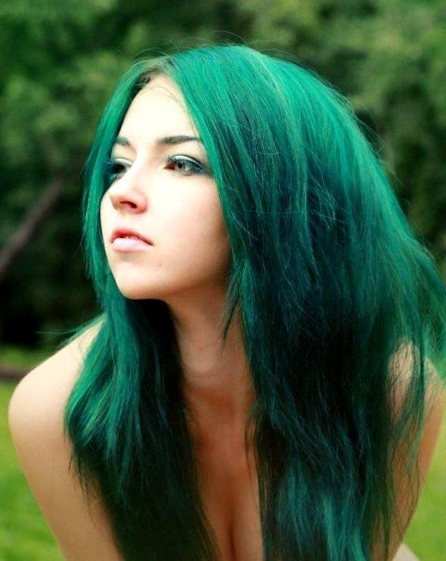 Зеленая тушь