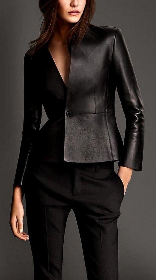 Женские кожаные куртки: мода без ограничений
