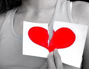 разбитое сердце