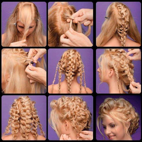 Плетение французских кос