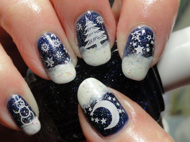 Настоящий зимний дизайн
